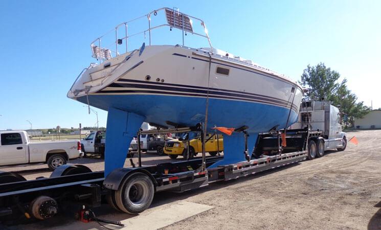 Sailboat-Cradle